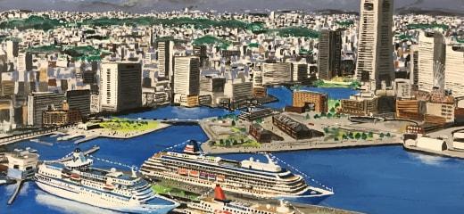 横浜港に日本のクルーズ客船が三隻!
