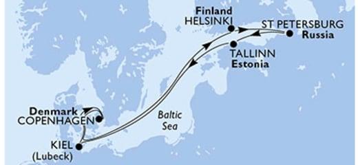 2019年GWクルーズ選び(5)MSCメラビリアのバルト海周遊