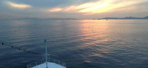 アマデア2013年ワールドクルーズ下船