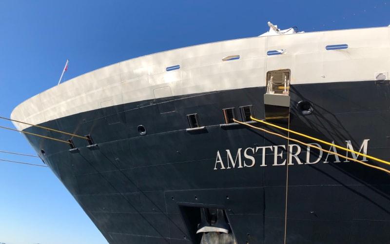 【乗船Day1】ホーランド・アメリカ、客船アムステルダム、シアトル港出発