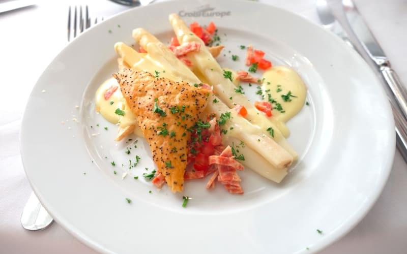 老舗リバークルーズのクロワジー・ヨーロッパ、実は「食事」が魅力的
