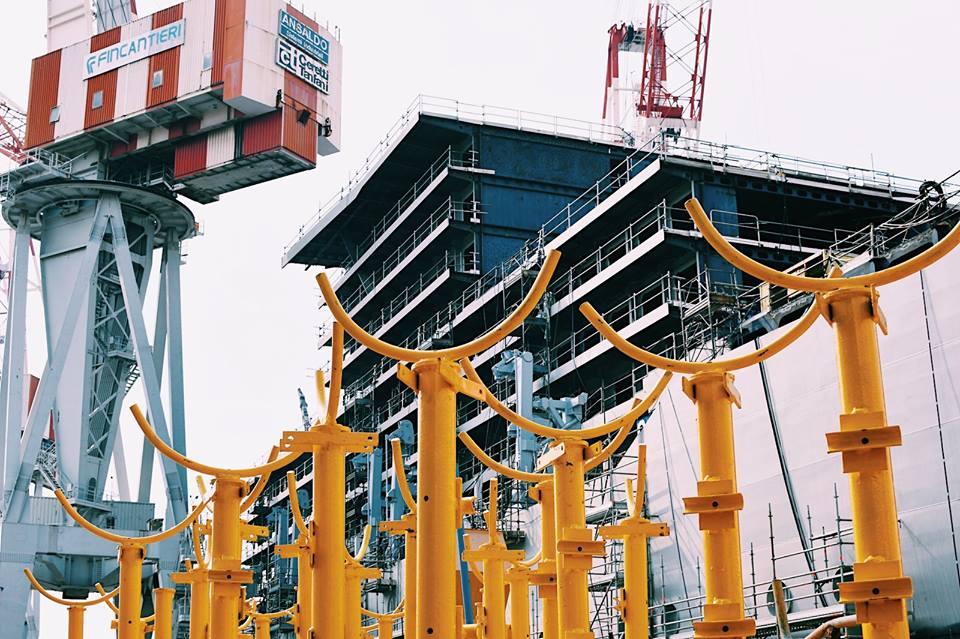 ヴァージン・ヴォヤージュ、最新客船の建造中の様子を公開