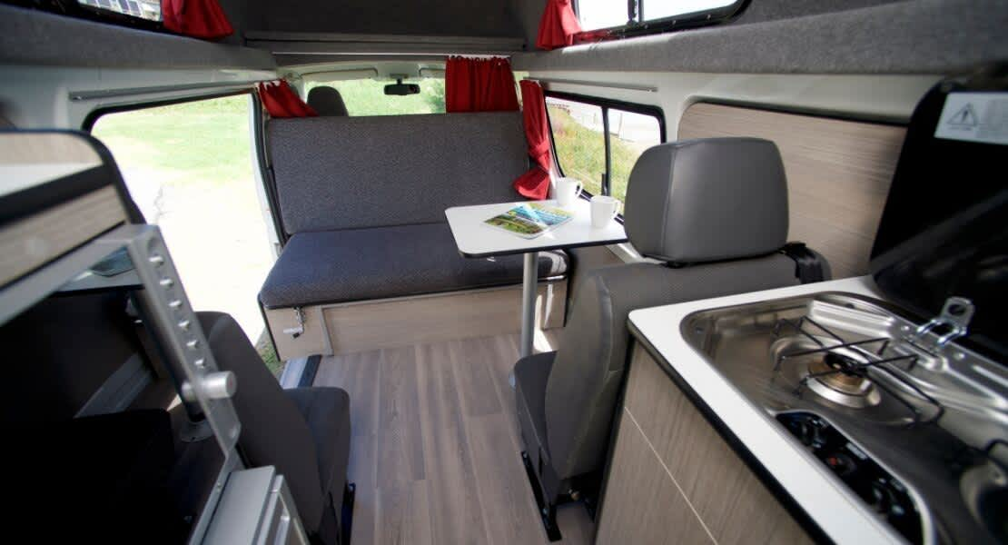 Cruisin 4 Berth Hi Top Campervan