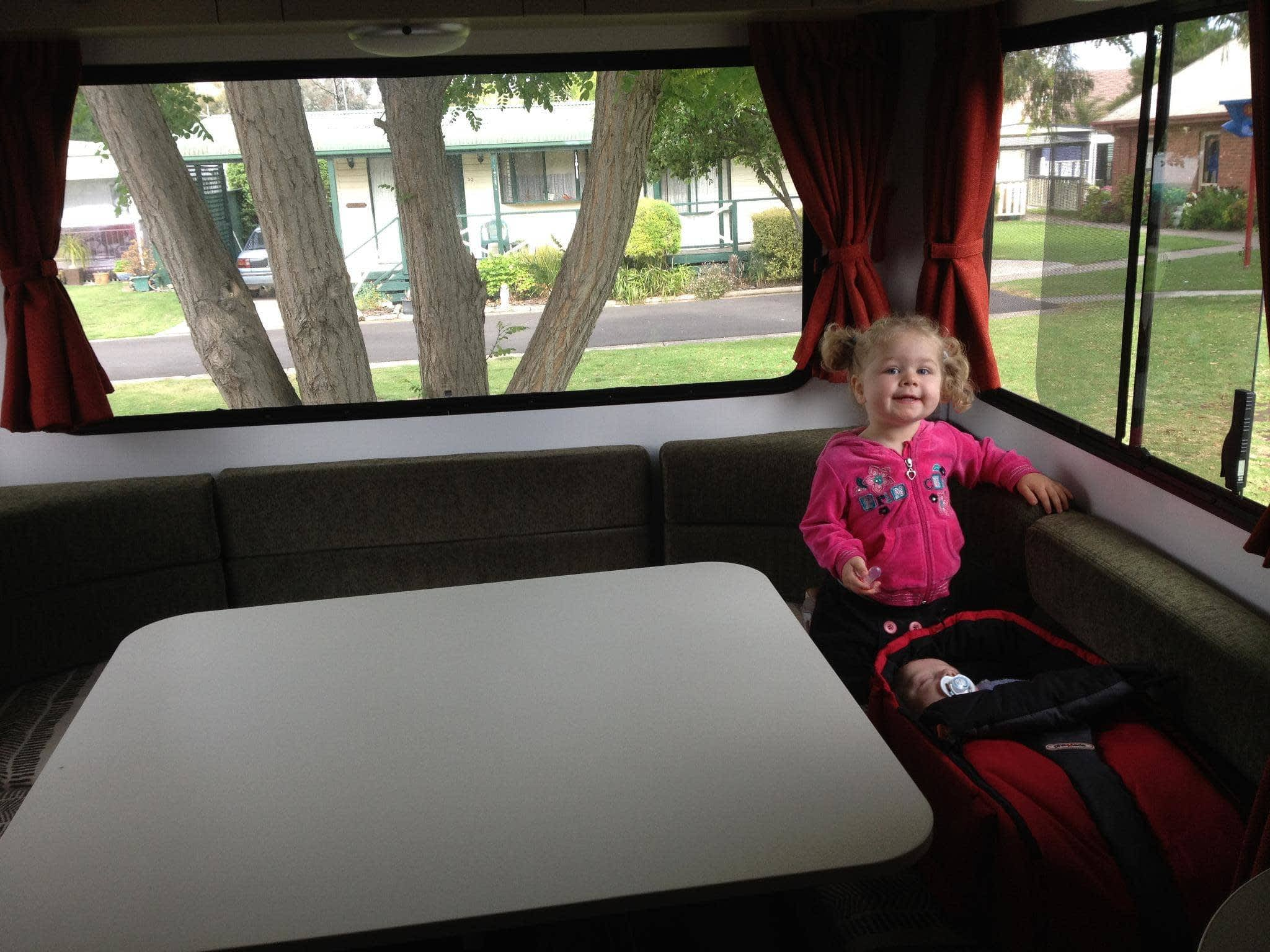 Kid in a Motorhome