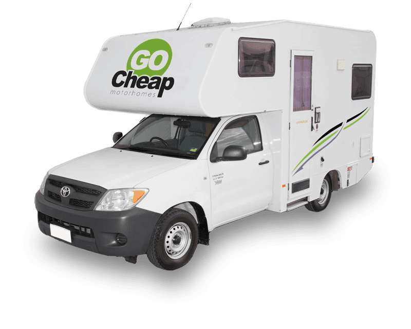 2 Berth Campervan On Toyota Hilux