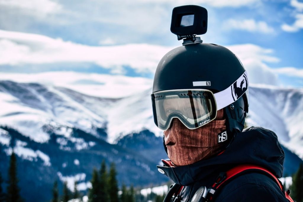 Snowboarding With GoPro