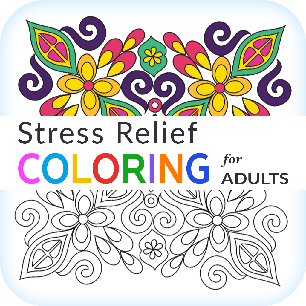 Stress Relief Coloring Book Stress Relief Coloring for Adults crunchbase