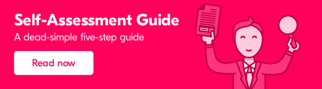 Self Assessment made easy with our free guide.