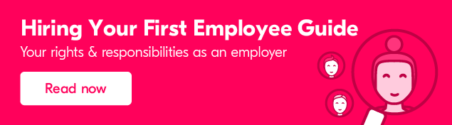 Find out how to hire your first employee
