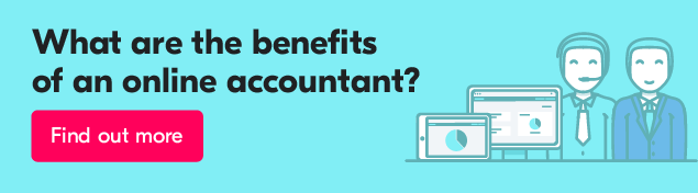 What are the benefits of an online accounting system?