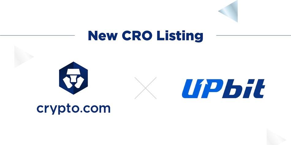 Upbit to List Chain Token (CRO)