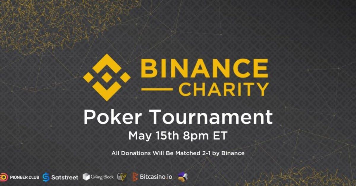 Bitcasino.io poker platform to host major charity tournament