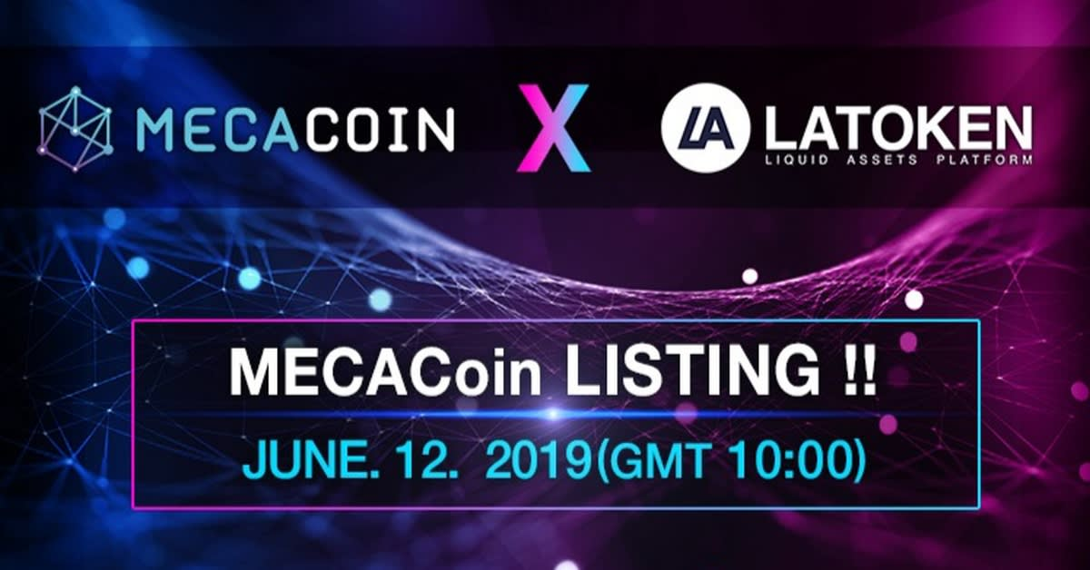 MECA Coin to list on LATOKEN following successful IEO