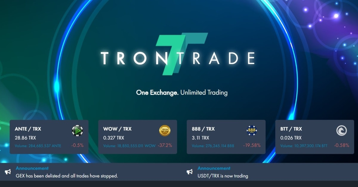 TronTrade on the future of TRON gambling and casino dividends