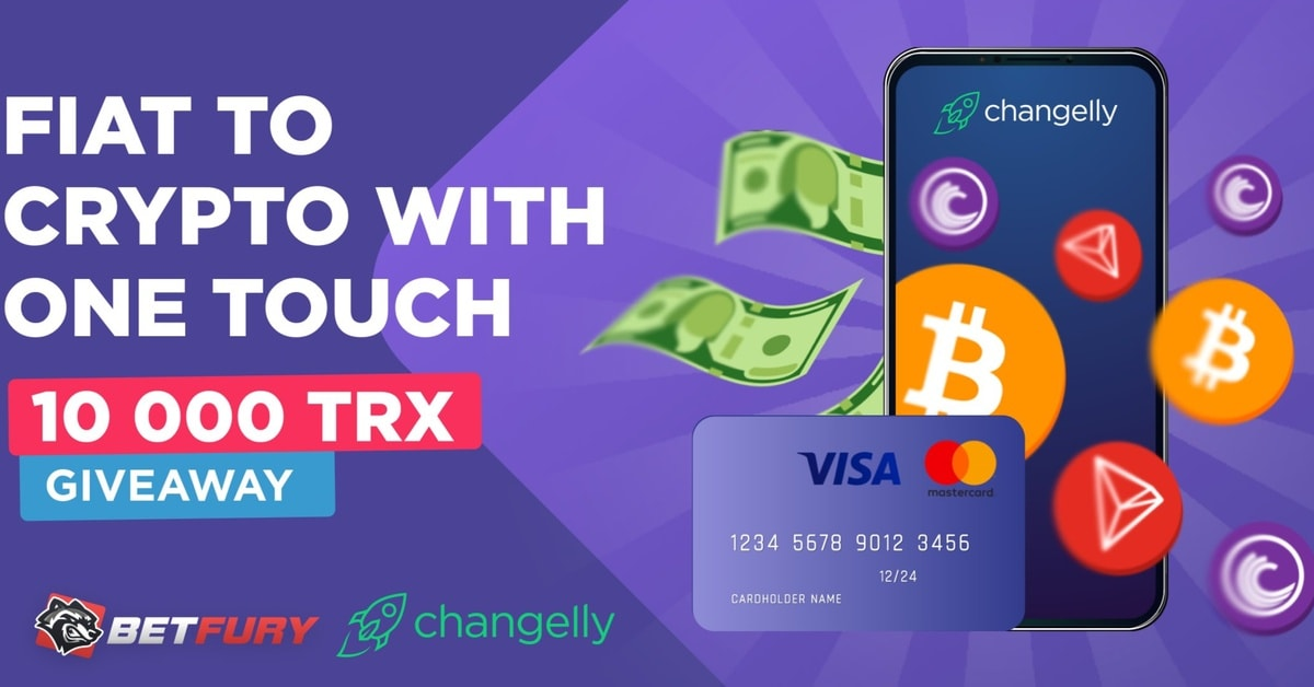 BetFury partners with Changelly for FIAT to crypto deposits
