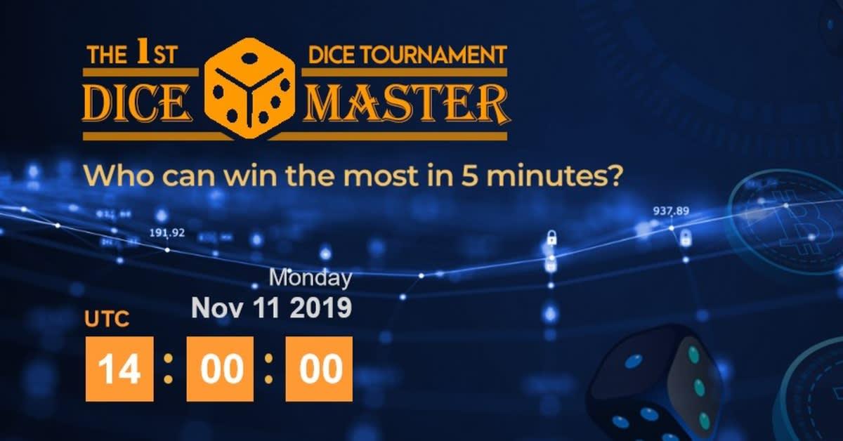 Trust Dice launches 1st Dice Master Tournament