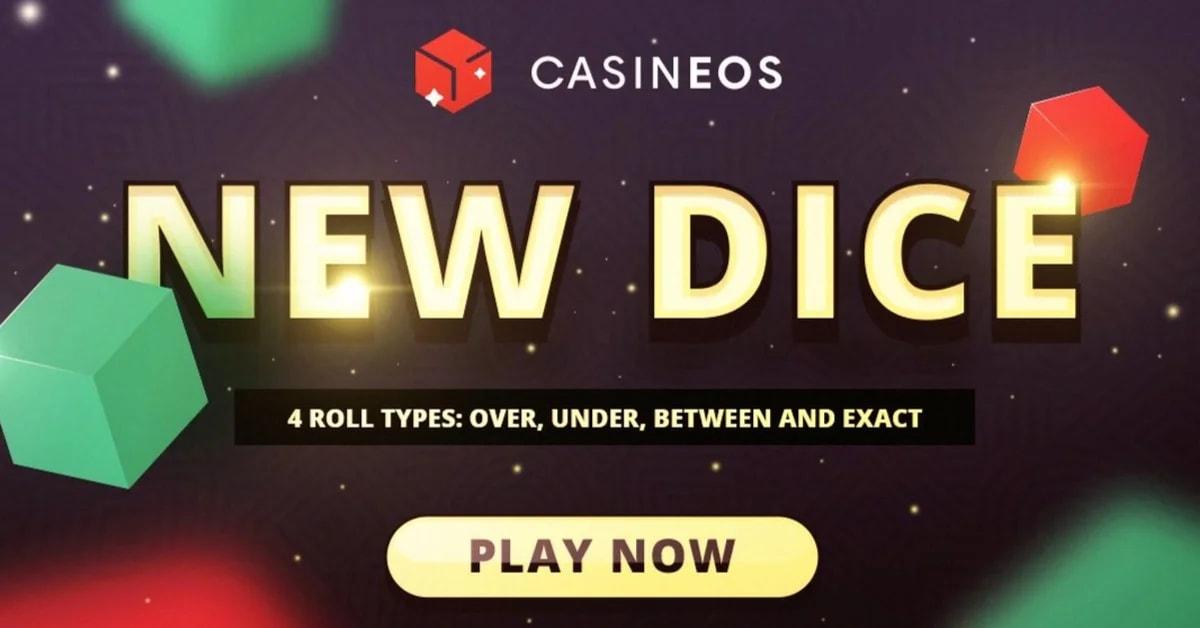 Casineos innovates new dice games