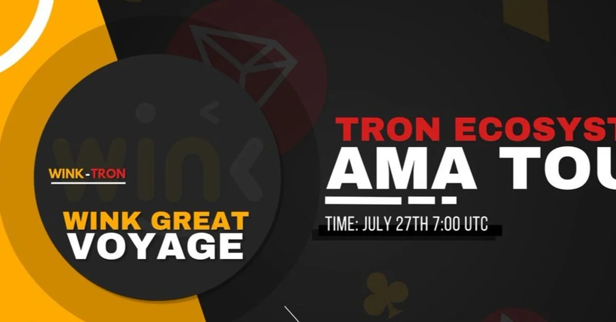 WINk to host AMA as part of TRON tour
