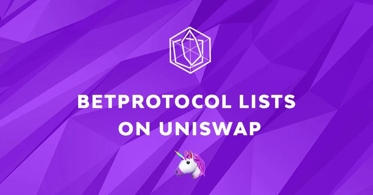 BetProtocol lists $BEPRO on Uniswap