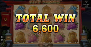 50,000 FUN up for grabs in CasinoFair Five Fruits promo