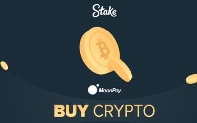 Stake MoonPay partnership