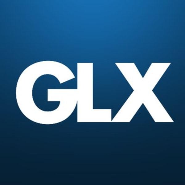 GLX.com logo