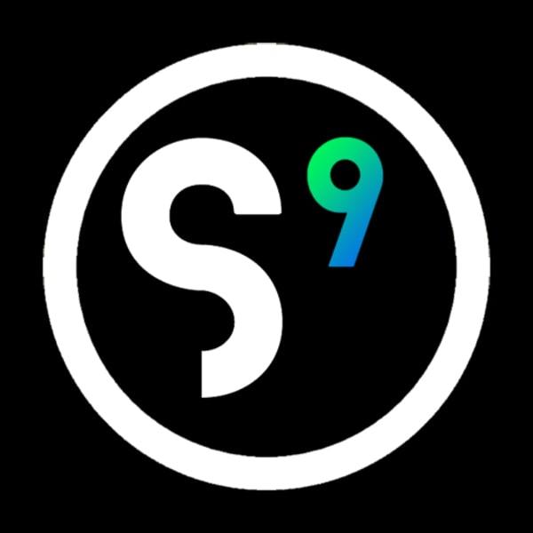 System 9 logo