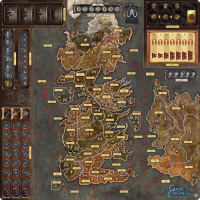 A Game of Thrones Board Game: Mother of Dragons Deluxe Gamemat Thumb Nail