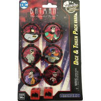 DC HeroClix: Batman The Animated Series Dice & Token Pack Thumb Nail