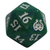 Aether Revolt - D20 Spindown Life Counter - Green Thumb Nail