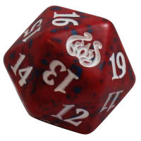 Aether Revolt - D20 Spindown Life Counter - Red Thumb Nail