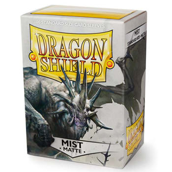 Dragon Shield Sleeves: Matte Mist (100)