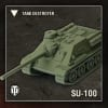 World of Tanks: Wave 1- Soviet (SU-100), Tank Destroyer
