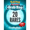 CoolStuffInc.com Rare Pokemon Grab Bag - 20 Rare Pokemon Cards!