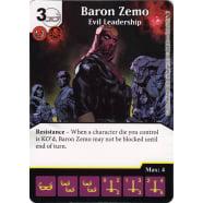 Baron Zemo - Evil Leadership Thumb Nail