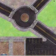 Marvel: Crisis Protocol - Roundabout Knockout Game Mat Thumb Nail