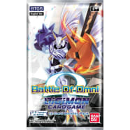 Digimon TCG - Battle of Omni - Booster Pack Thumb Nail