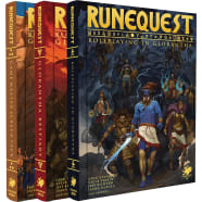 RuneQuest: Roleplaying in Glorantha Deluxe Slipcase Set Thumb Nail