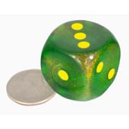 30MM D6: Borealis Maple Green w/Yellow Thumb Nail