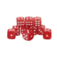 CoolStuffInc.com Essentials - 10x D6 (Red) Thumb Nail