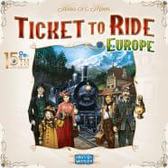 Ticket To Ride: Europe: 15th Anniversary Thumb Nail