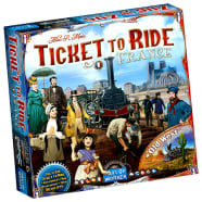 Ticket to Ride: France and Old West Expansion Map Collection 6 Thumb Nail