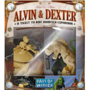 Ticket To Ride: Alvin & Dexter Monster Expansion Thumb Nail