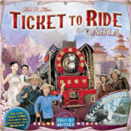 Ticket To Ride: Asia Expansion - Map Collection Volume 1 Thumb Nail
