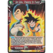 Son Goku, Prepping for Fusion Thumb Nail
