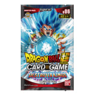 Dragon Ball Super TCG - Destroyer Kings - Booster Pack Thumb Nail