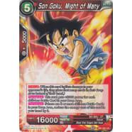 Son Goku, Might of Many Thumb Nail