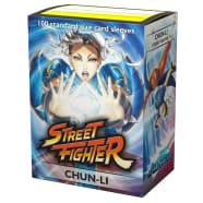 Dragon Shield Sleeves: Classic Art - Street Fighter - Chun-Li(100) Thumb Nail