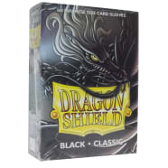 Dragon Shield Sleeves: Japanese Classic Black (60) Thumb Nail
