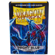 Dragon Shield Sleeves: Classic Night Blue (60) Thumb Nail